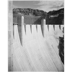 Boulder Dam close up