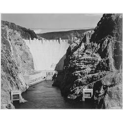 Boulder Dam from Across the Colorado River 2