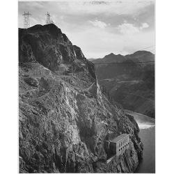 Cliffs above Boulder Dam