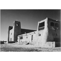 Church Acuemo Pueblo