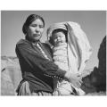 Dinee Woman and Infant