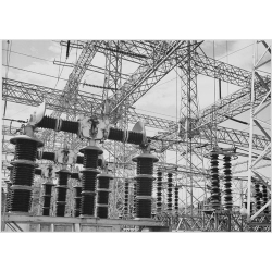 Electrical Wires of the Boulder Dam Power Unit