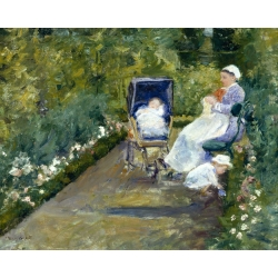 Children in the Garden with Nanny
