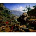Miners in the Sierras