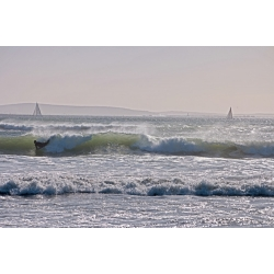 Surfs up in Langebaan