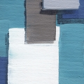 Abstract Blocks Blue 2