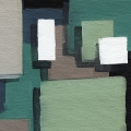 Abstract Blocks Green 4