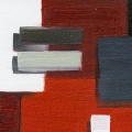 Abstract Blocks Red 3