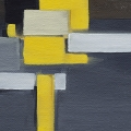Abstract Blocks Yellow 1
