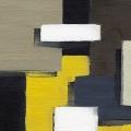 Abstract Blocks Yellow 3