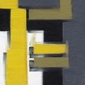 Abstract Blocks Yellow 4