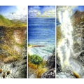Fire at Scarborough Triptych
