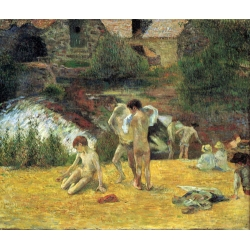 Bathing in the Mill of Bois d'Amour
