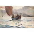 Returning Fishing Boats