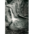 Infrared Nude at Waterfall