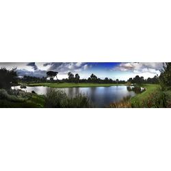 Westlake 9th Tee View Panorama 1