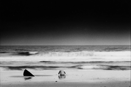 Nude at Shark Rock - workART Prints and Picture Frames