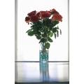 Roses in Vase Blue