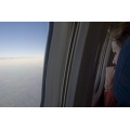 Woman in Plane Wondow 2