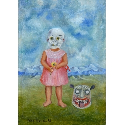 Girl with a Death Mask