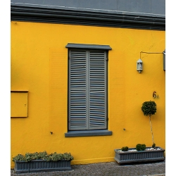 Yellow Grey House 460
