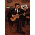 The Guitarist Pagans and Monsieur Degas