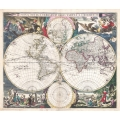 1685 Map of the World
