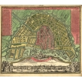 Stadt Amsterdam (1727) City Map
