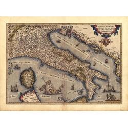 Theatrum Orbis Terrarum - Italia (1570)
