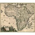 Totius Africae Accuratissima Tabula (1688)