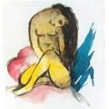 Sitting Yellow Lady