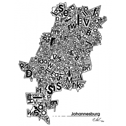 Joburg Map Suburbs