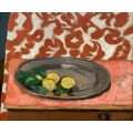 Lemons on a Pewter Plate