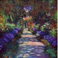 Pathway in the Artists Garden, Giverny