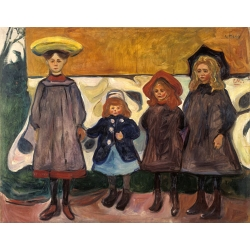 Four Girls in Asgardstrand