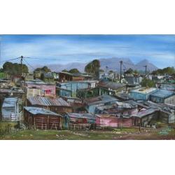 Shack Landscape Khayalitsha