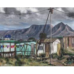 Rain Clouds over Cape Town