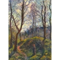 Landscape with Big Trees