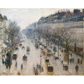 Boulevard Montmartre on a Winters Morning