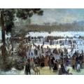 Skating Runners in the Bois de Bologne