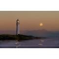 Lighthouse Moonlight