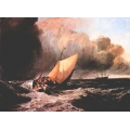 Dutch Boats in a Squall