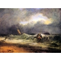 Fishermen in a Squall