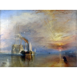 The Fighting Temeraire Tugged to her Last Berth to be Broken Up