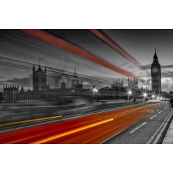 London Westminster Bridge and Red Bus