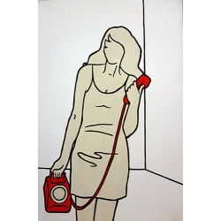 The Girl with the Red Phone