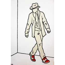 The Man with the Red Shoes