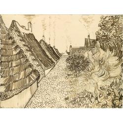 Street in Saint Marries Sketch