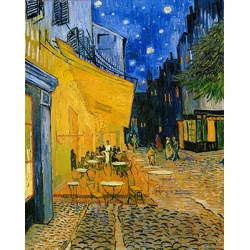 The Cafe Terrace on the Place du Forum Arles at Night
