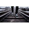On a Railway